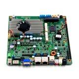 Sem ventiladores Baytrail Onboard Celeron J1900/J1800 LAN Dupla Motherboard para monitor de toque