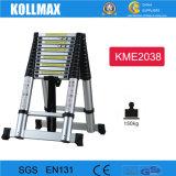 het Compacte Aluminium die van 3.8m+3.8m Ladder vouwen