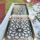Поставщик панели металла отделки бронзы Antique экрана рассекателя комнаты отрезока лазера верхнего качества почищенный щеткой цветом