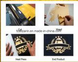 Hebra al por mayor y vinilo Cuttable flexible de la flexión de la PU para las materias textiles