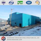 Sinoacme는 고층 무거운 강철 구조물 산업 공장을 조립식으로 만들었다