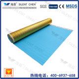 2mm проектированный деревянный ковер пола положенный в основу с алюминиевой пленкой