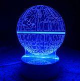 習慣3D LEDの錯覚夜ライト