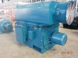 Motor asíncrono trifásico de alto voltaje grande/de tamaño mediano Yrkk5002-8-250kw del anillo colectando del rotor de herida