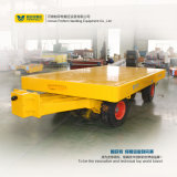 5t Yellow Four Side Rails Baggage Dolly Trailer