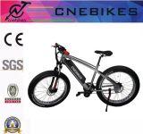 E-Bici del neumático de 26 x 4.0 grasas con el MEDIADOS DE motor de Bafang