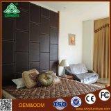 Het houten Bed van het Hotel voor het Meubilair van de Slaapkamer van het Hotel voor vijfsterrenHotel