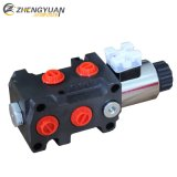 Las principales marcas de la electroválvula de hidráulica válvulas de desviador de la Seccional 60L/M y 12V 24V