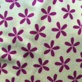 Tissu estampé de flanelle de coton de tissu des 2016 hivers pour des pyjamas et des vêtements de nuit de dames