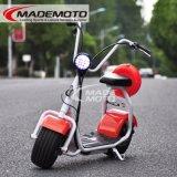 Best Populares Harley Style Scooter eléctrico com rodas de grande Cidade da Moda Citycoco Scooter