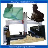 5 Mittellinien-rotierender hölzerner Fräser 4-Axis CNC-Schaumgummi, der Mittellinie CNC-Maschine 3D des Fräser-5 Mittellinie der CNC-Maschinen-4 schnitzt