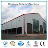 Magazzino prefabbricato della fabbrica della costruzione strutturale d'acciaio dell'ampia luce