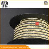 En fibre aramide utilisé pour les pompes centrifuges d'emballage, les Compresseurs, pompes à vide, les agitateurs et joints d'arbre d'hélice.