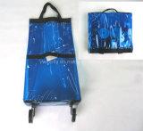 Aktions-Einkaufstasche mit Rädern aus PVC-Material