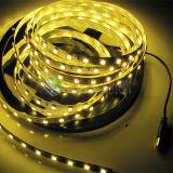 Buena calidad SMD5050 los 30LEDs/M 12V, 24V luz de tira flexible de la C.C. LED