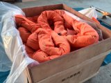 2018 El poliéster Eslinga redonda 12t*5m de color naranja con Ce/GS