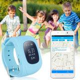 Портативный вахта отслежывателя GPS для ребенка/малышей с шагомер Y2