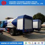 가스통 충전물을%s 도로 유조 트럭을 다시 채우는 HOWO 4X2 15000liters 8tons LPG