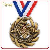 Feito sob encomenda morrer a medalha do metal da forma do coração do festival do carnaval da carcaça