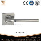 Sicherheits-Wohnungs-Einstiegstür-Verschluss-Griff auf quadratischer Rosette (Z6076-ZR13)