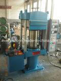 Platina vulcanización de caucho prensa hidráulica Máquina