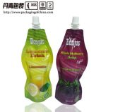 250mlは袋の中国のヒートシール袋ジュースの包装を立てる