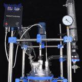 Reactor de cristal vestido usado producto químico del laboratorio para la venta