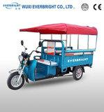 3 sedi di passeggero elettriche elettriche di Trike del carico del carraio della rotella tre
