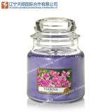 Hot Pot de verre de vente de bougies et bougie parfumée bougie Jar