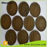 Venta directa de fábrica de monedas antiguas monedas de Chocolate al por mayor y personalizado para la venta muchos nuevos diseños de monedas antiguas