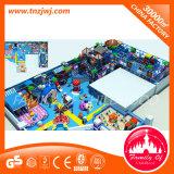 Спортивная площадка крытого скольжения детей LLDPE конструкции театра крытая