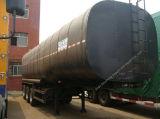 3 semi-remolque a granel del petrolero del polvo del cemento del árbol 50cbm
