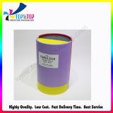 Parfum du tube de vérin d'emballage du papier de luxe Boîte en carton avec couvercles