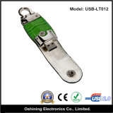 Coperchio del cuoio dell'azionamento di memoria del USB (USB-LT012)