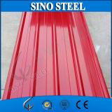 Trapezoide PPGI Farbe galvanisiertes gewölbtes Stahldach-Blatt