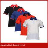 Camisas baratas al por mayor del collar de la fábrica para los hombres para la promoción (P117)