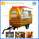 Food mobile Cart con Canopy e CE Certificate