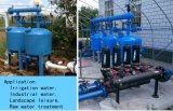 물 디스트리뷰터 및 수집가 또는 물 여과 기계를 가진 자동 모래 매체 여과 시스템