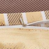 Afgedrukt Omkeerbaar Ontwerp Microfiber 3 van het Dekbed Stukken van de Reeks van de Dekking