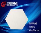Allumina indurita Zirconia di ceramica con la ceramica a prova di proiettile di resistenza a temperatura elevata