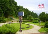 Indicatore luminoso a energia solare dell'assassino LED della zanzara del portello esterno