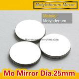 Espejo 100% del reflector 25m m MES del espejo del laser del CO2 del espesor de la reflexión 3m m