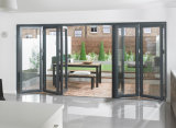 Plegado Bifolding Jardín de las puertas de aluminio para jardín