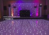 Witte Draagbare het Gebruiken LEIDEN van het Huwelijk van de Ster Dance Floor