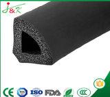 EPDM, protuberancia de goma de la tira sólida del silicón para la construcción, coche, carro