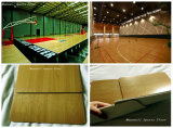 Materiales de PVC Exterior/Interior Piso Baskestball corte hecho en China