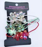 supporti di plastica del Ponytail della decorazione del fiore 12pack