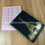 Golden Stamping Design를 가진 Discolor 열 PU Leather A5 Agenda Planner Diary Notebook