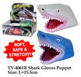 Jouet drôle de marionnette de gantiers de requin