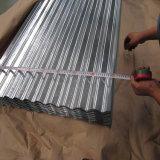 Lamiere di acciaio ondulate galvanizzate del tetto 0.11mm per le Afriche occidentali